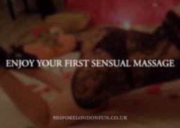what a sensual massage service involve in London