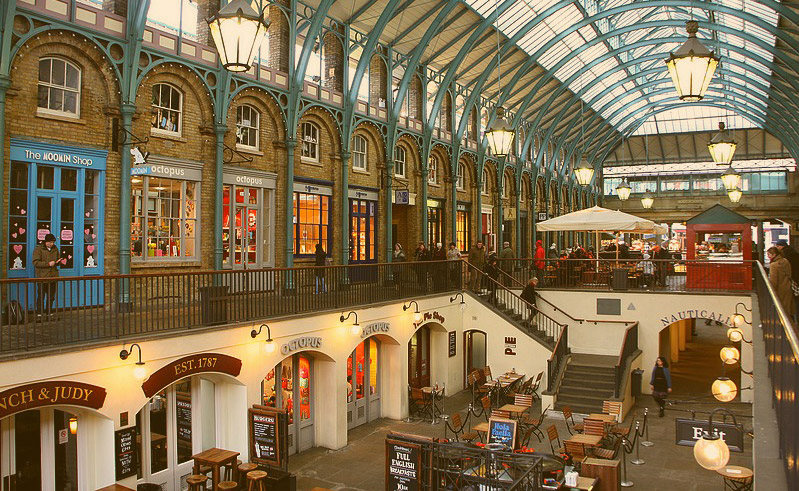 the famous covent garden market